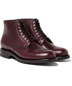 Viberg | Leather Derby Boots