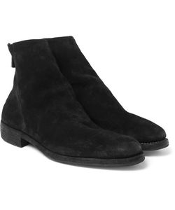 GUIDI | Suede Boots