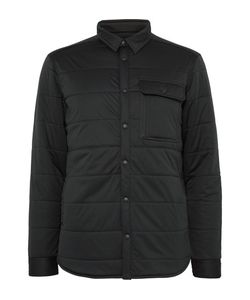 Snow Peak | Quilted Stretch-Jersey Shirt Jacket