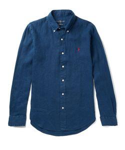 Polo Ralph Lauren | Slim-Fit Button-Down Collar Linen Shirt