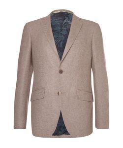 Etro | Slim-Fit Wool-Blend Blazer