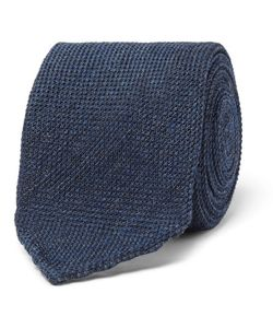 Thom Sweeney | 8cm Woven Wool And Silk-Blend Tie