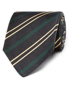 Drake's | Easyday 7cm Striped Silk Tie