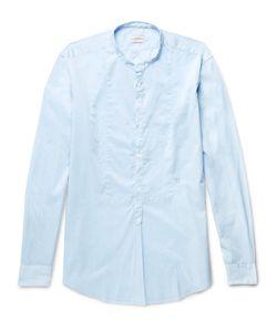 Massimo Alba | Kos Grandad-Collar Cotton Shirt