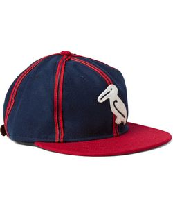 EBBETS FIELD FLANNELS | 1944 New Orleans Pelicans Appliquéd Wool-Felt Baseball