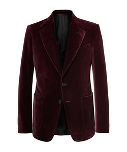 Tom Ford | Shelton Slim-Fit Velvet Tuxedo Jacket