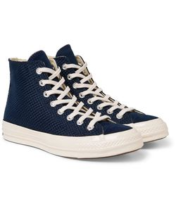 Converse | 1970s Chuck Taylor All Star Suede-Trimmed Woven High-Top Sneakers