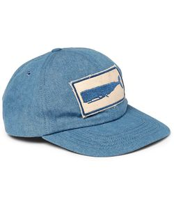 MOLLUSK | Appliquéd Denim Baseball Cap