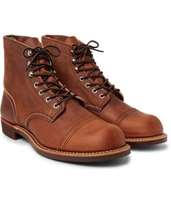 Red Wing Shoes | Iron Ranger Oil-Tanned Leather Boots
