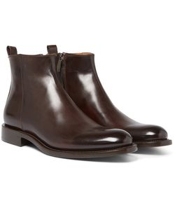 O'Keeffe | Polished-Leather Chelsea Boots