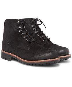 Grenson | Radley Burnished-Suede Boots