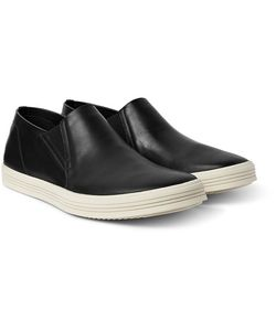 Rick Owens | Leather Slip-On Sneakers