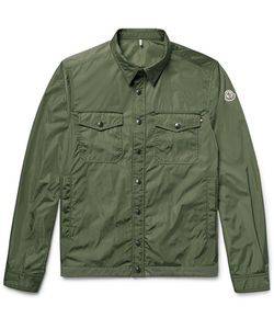 Moncler | Triomphe Cotton-Trimmed Nylon Shirt Jacket