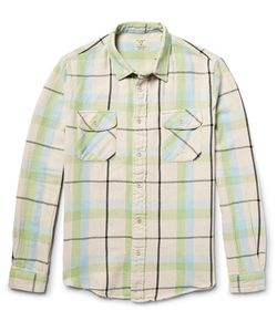 Levi'S Vintage Clothing | Shorthorn Slim-Fit Checked Cotton-Flannel Shirt
