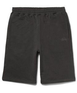 Stüssy | Fleece-Back Cotton-Jersey Shorts