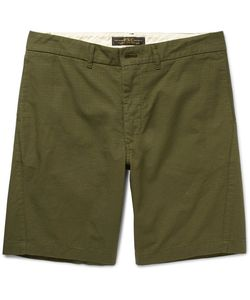 Freemans Sporting Club | Arc Cotton-Ripstop Shorts