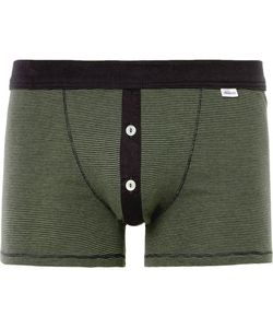 Schiesser | Karl Heinz Striped Cotton-Jersey Boxer Briefs