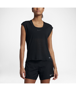 Nike | Беговая Футболка Breathe