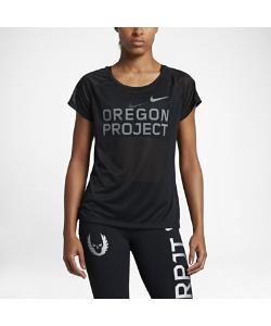 Nike | Беговая Футболка С Коротким Рукавом Breathe Oregon Project