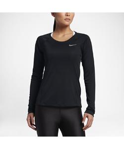 Nike | Женская Беговая Футболка С Длинным Рукавом Dry Miler