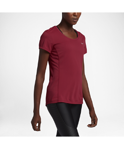 Nike | Футболка Для Бега Dri-Fit Contour Short-Sleeve