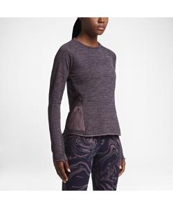 Nike | Женская Беговая Футболка С Длинным Рукавом Therma Sphere Element
