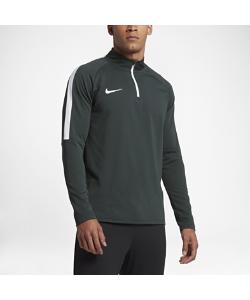 Nike | Футболка Для Футбольного Тренинга С Длинным Рукавом И Молнией 1/4