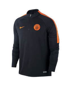 Nike | Игровая Футболка С Длинным Рукавом И Молнией 1/4 Manchester City