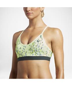 Nike | Спортивное Бра С Легкой Поддержкой Pro Indy Techno Glitch