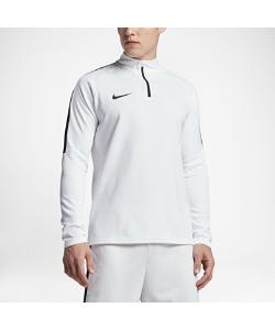 Nike | Мужская Футболка Для Футбольного Тренинга С Длинным Рукавом И Молнией 1/4
