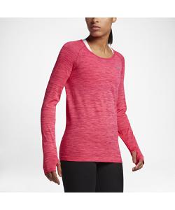 Nike | Беговая Футболка С Длинным Рукавом Dry Knit
