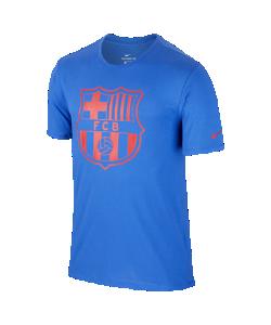 Nike | Мужская Футболка Fc Barcelona Dry Crest