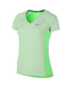 Nike | Женская Беговая Футболка С Коротким Рукавом Dry Miler