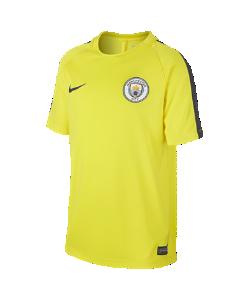 Nike | Игровая Футболка Для Школьников Manchester City Fc Dry Xsxl