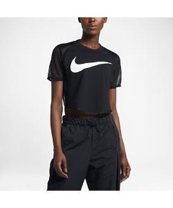 Nike | Женская Укороченная Футболка Sportswear Mesh