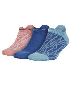 Nike | Носки Для Тренинга Dry Graphic No-Show 3 Пары