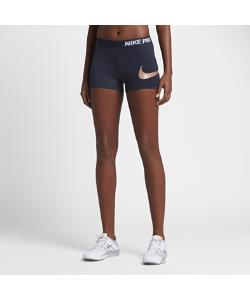 Nike | Женские Шорты Для Тренинга Pro Logo 75 См