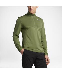 Nike | Футболка Для Гольфа С Длинным Рукавом И Половинной Молнией