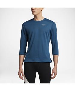 Nike | Мужская Беговая Футболка С Рукавом 3/4 Nikelab Aeroreact Gyakusou