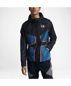 Nike | Ветровка International Из Легкой Ткани Рипстоп С Регулируемым Водолазным