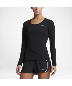 Nike | Футболка Для Бега С Длинным Рукавом Zonal Cooling Contour