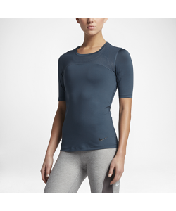 Nike | Женская Футболка Для Тренинга С Коротким Рукавом Pro Hypercool