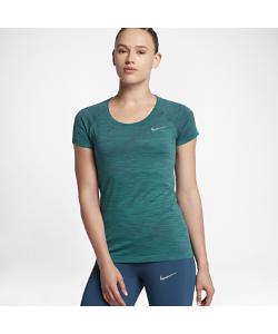 Nike | Беговая Футболка С Коротким Рукавом Dri-Fit Knit