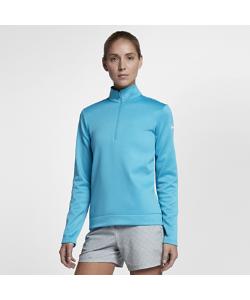 Nike | Футболка Для Гольфа С Длинным Рукавом И Молнией До Середины