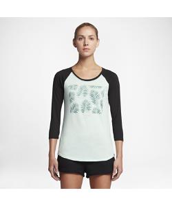 Nike | Футболка С Рукавом 3/4 Hurley Palms Perfect Raglan