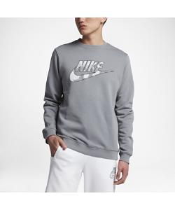 Nike | Флисовый Свитшот Sportswear Camo