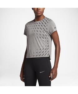 Nike | Женская Беговая Футболка С Коротким Рукавом Breathe City