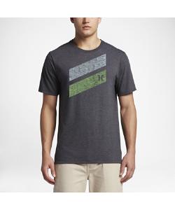 Nike   Футболка Hurley Icon Slash Push Through