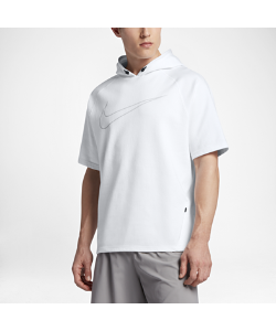 Nike | Мужская Беговая Худи С Коротким Рукавом City