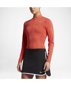 Nike | Женская Футболка Для Гольфа С Половинной Молнией Zonal Cooling Dry